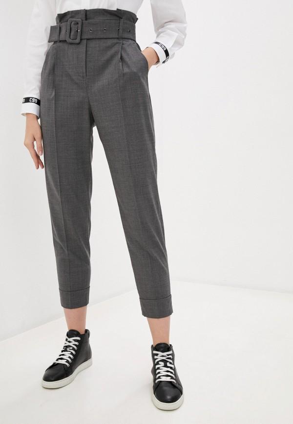 женские повседневные брюки cappellini, серые