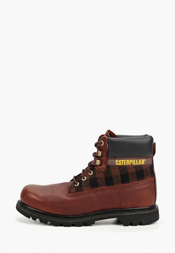 мужские ботинки caterpillar, коричневые