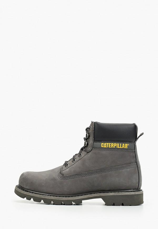мужские ботинки caterpillar, серые