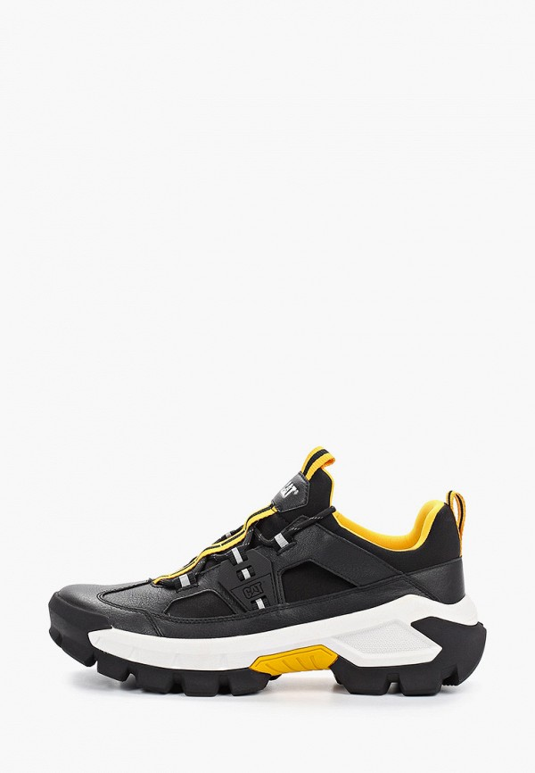 мужские низкие кроссовки caterpillar, черные