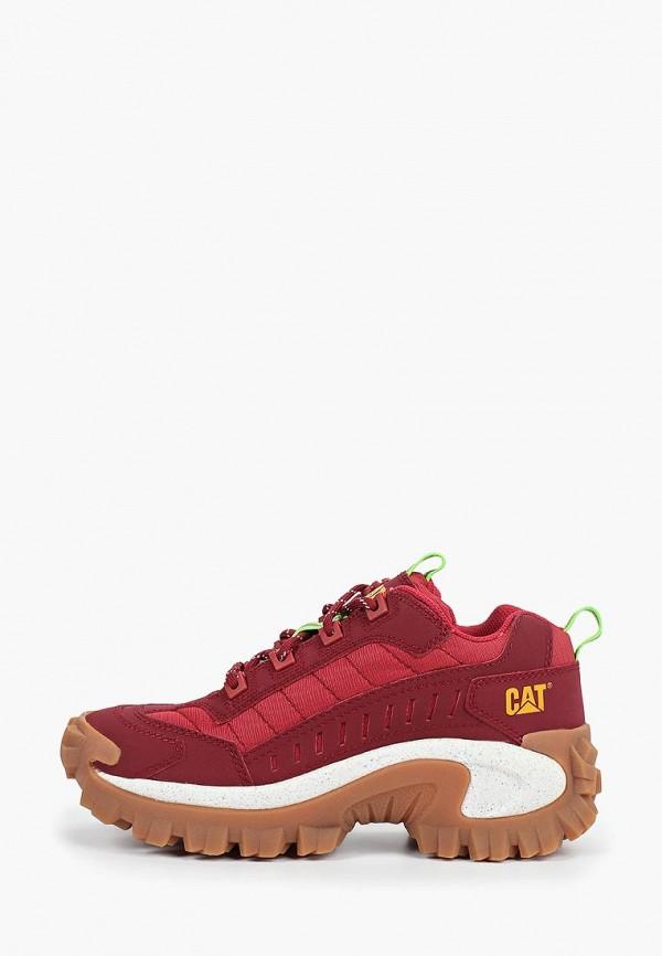 женские кроссовки caterpillar, красные
