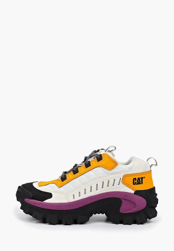 женские ботинки caterpillar, белые