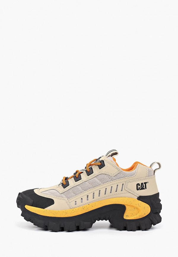 женские ботинки caterpillar, бежевые