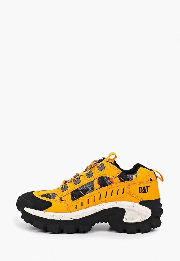 женские ботинки caterpillar, оранжевые