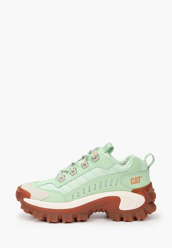 женские кроссовки caterpillar, зеленые