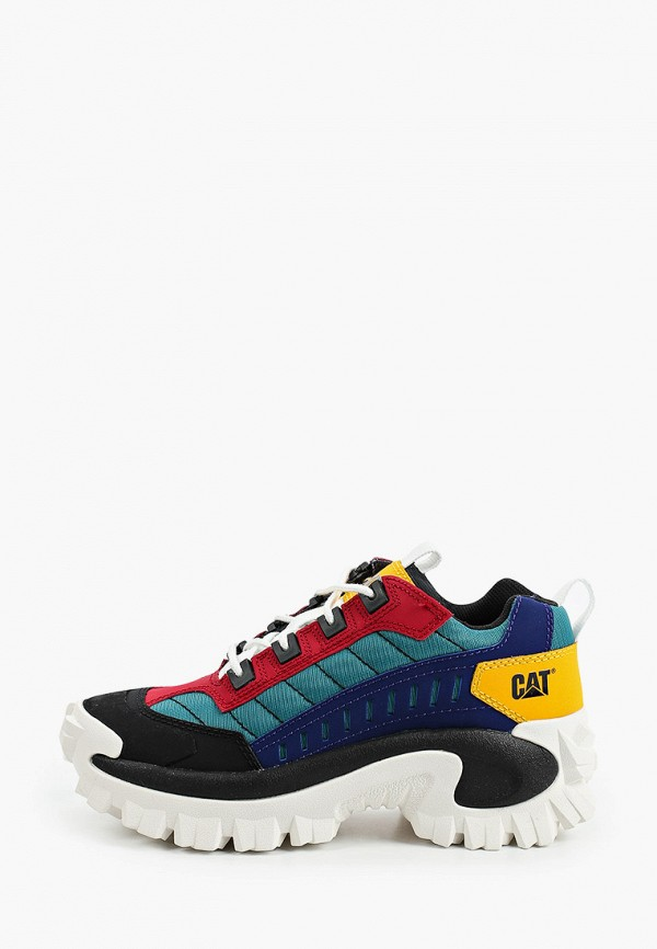 женские низкие кроссовки caterpillar, разноцветные