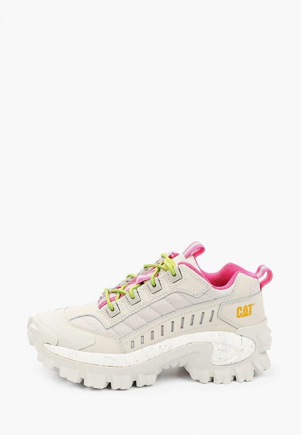 женские низкие кроссовки caterpillar, серые