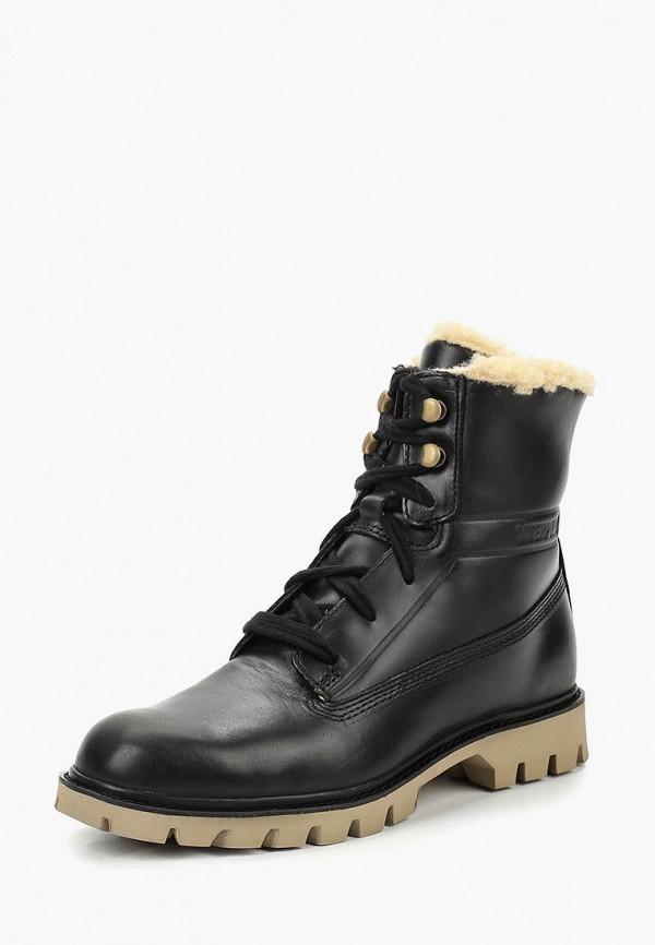Купить Ботинки Caterpillar, BASIS FUR, CA213AWCPOB1, черный, Осень-зима 2018/2019