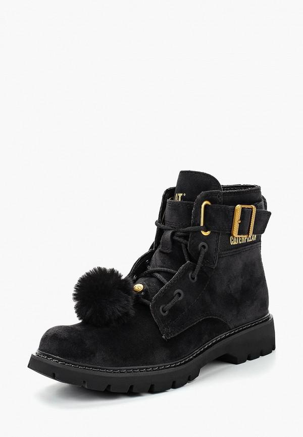Купить Ботинки Caterpillar, CONVERSION VELVET, CA213AWCPOB6, черный, Осень-зима 2018/2019