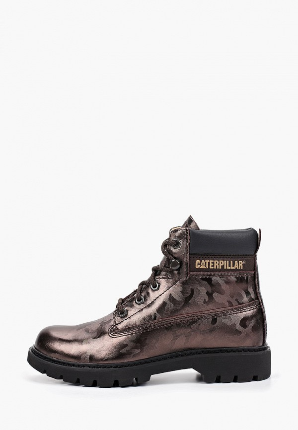 женские ботинки caterpillar, хаки