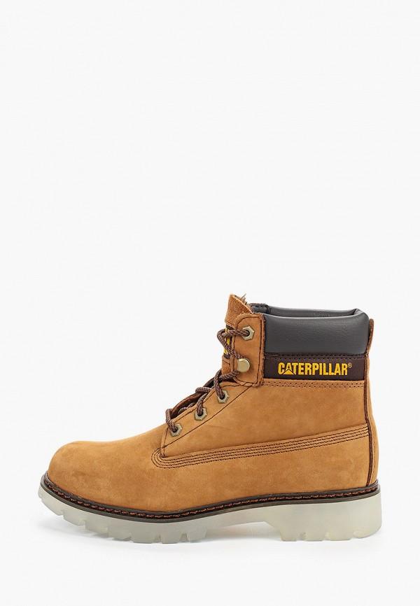 женские ботинки caterpillar, желтые