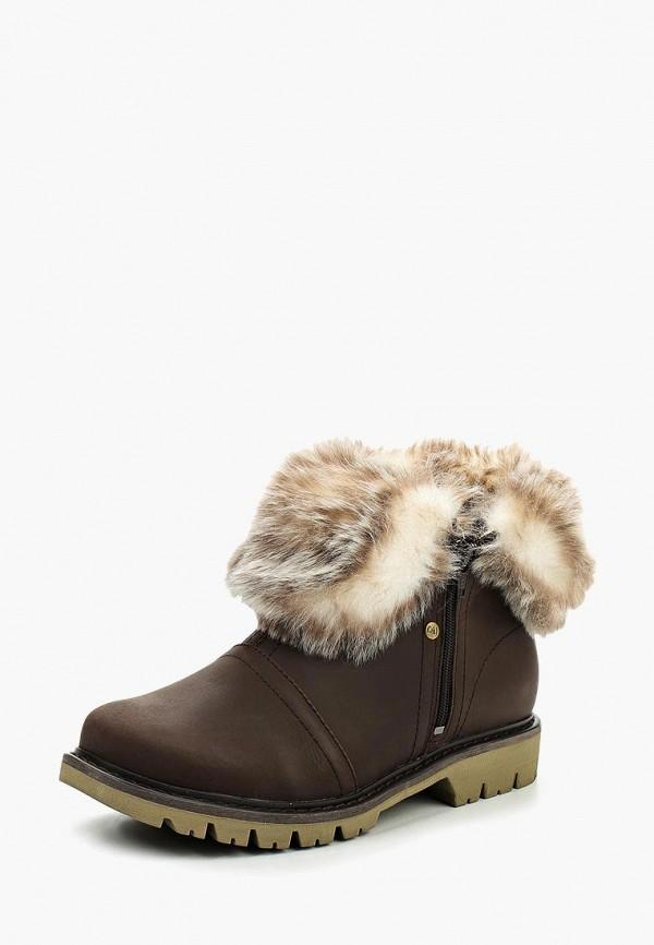 Фото - Женские ботинки и полуботинки Caterpillar коричневого цвета