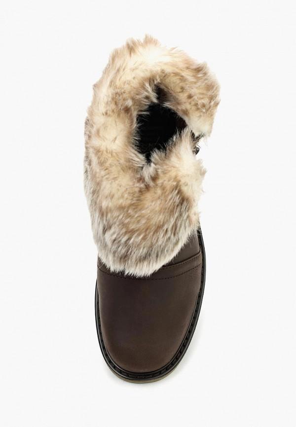 Фото 4 - Женские ботинки и полуботинки Caterpillar коричневого цвета