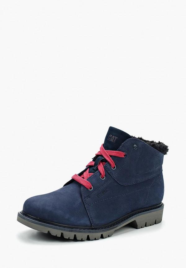Купить Ботинки Caterpillar, FRET FUR WP, CA213AWWDI62, синий, Осень-зима 2018/2019