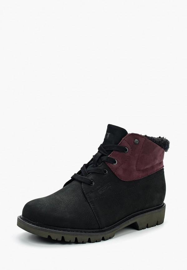 женские ботинки caterpillar, черные
