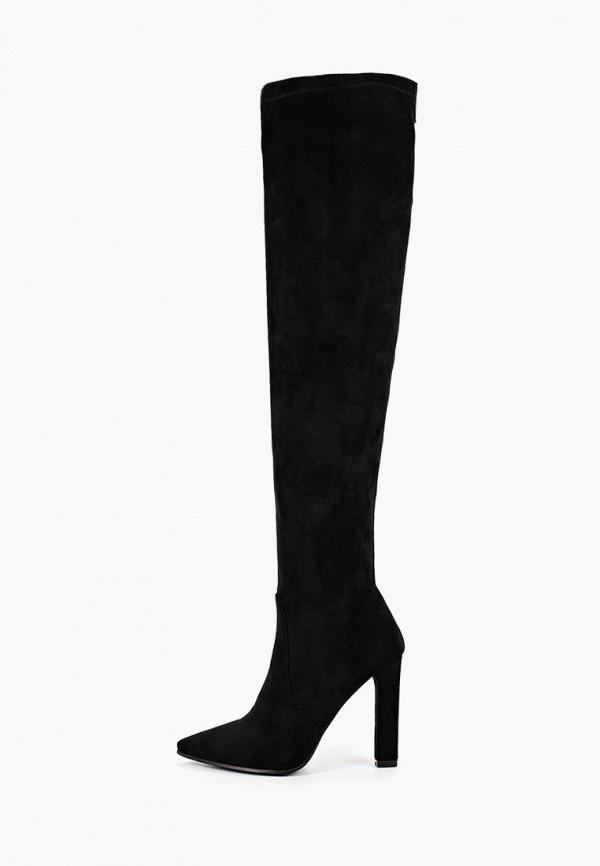 женские ботфорты calipso, черные