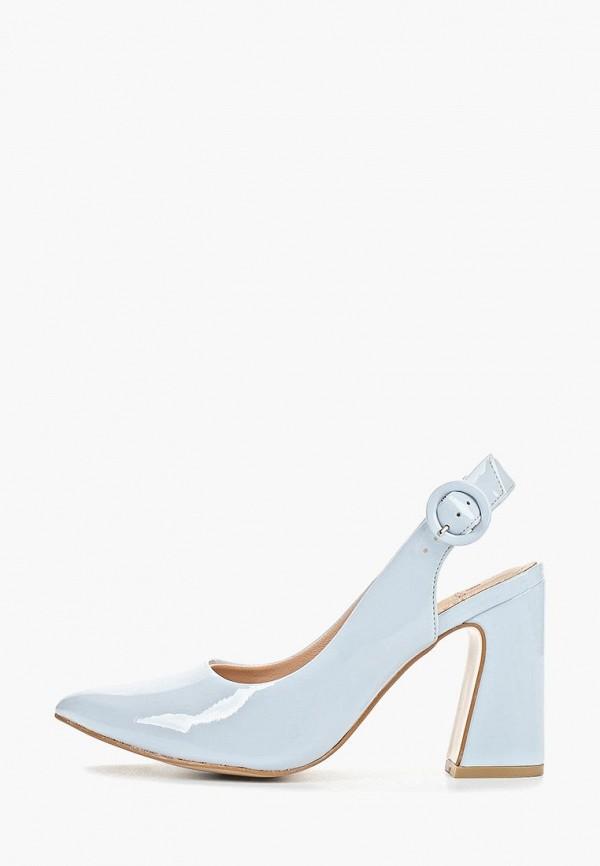 женские туфли calipso, голубые