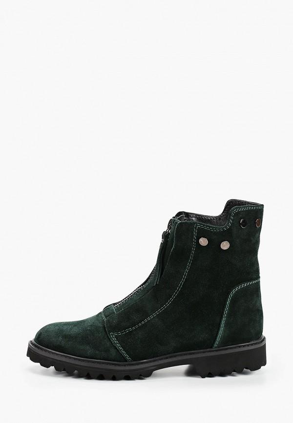 женские высокие ботинки calipso, зеленые