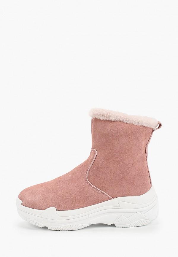 женское пальто calipso, розовое