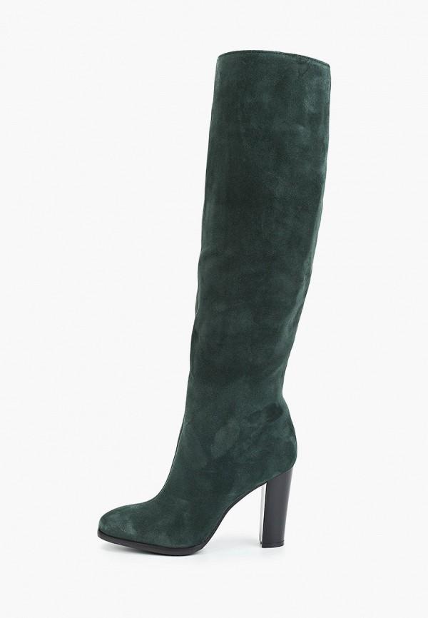 женские сапоги calipso, зеленые