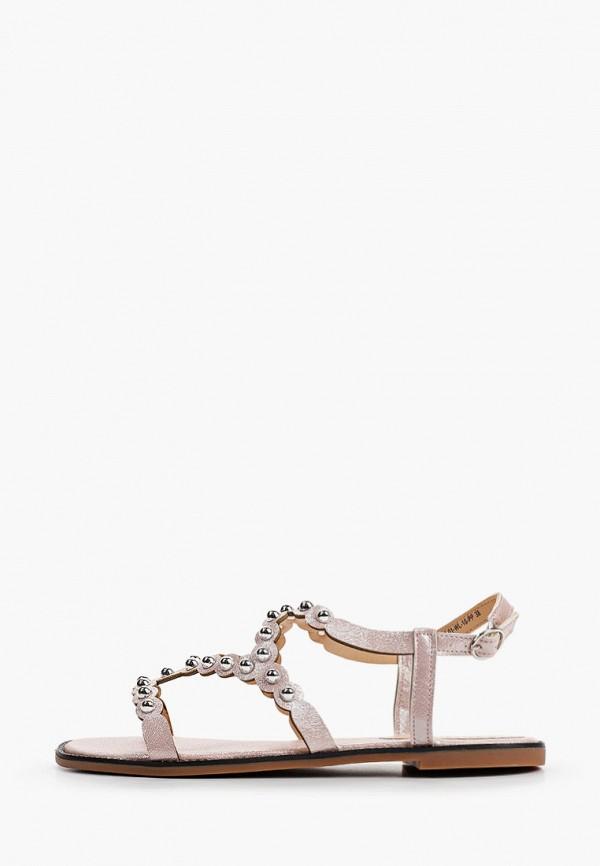 женские сандалии calipso, розовые