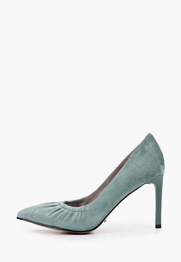 женские туфли-лодочки calipso, бирюзовые
