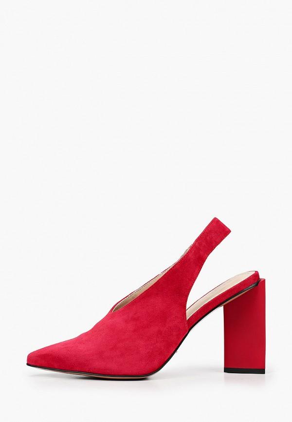 женские туфли calipso, красные