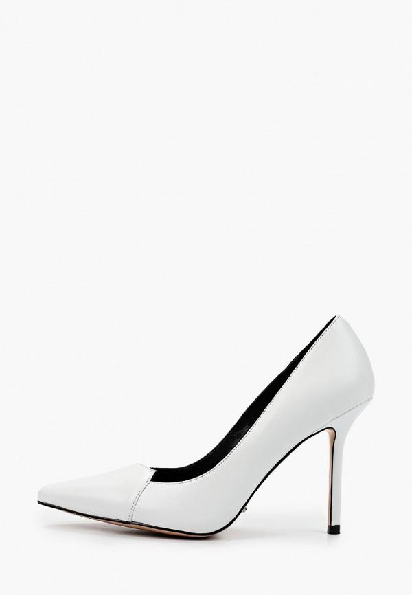 женские туфли-лодочки calipso, белые