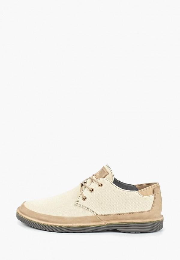 мужские туфли camper, бежевые