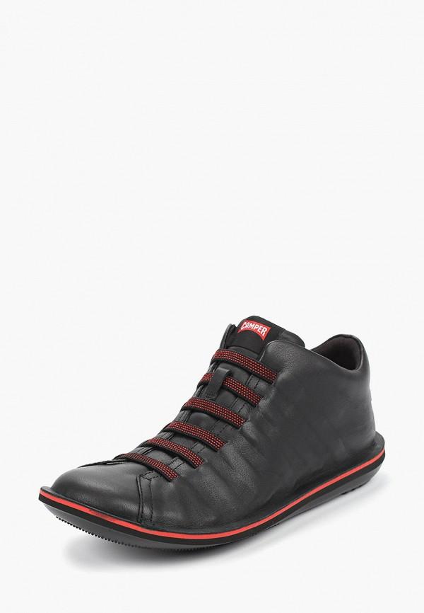Фото 2 - мужские ботинки и полуботинки Camper черного цвета