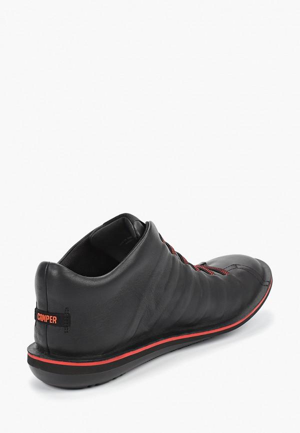 Фото 3 - мужские ботинки и полуботинки Camper черного цвета