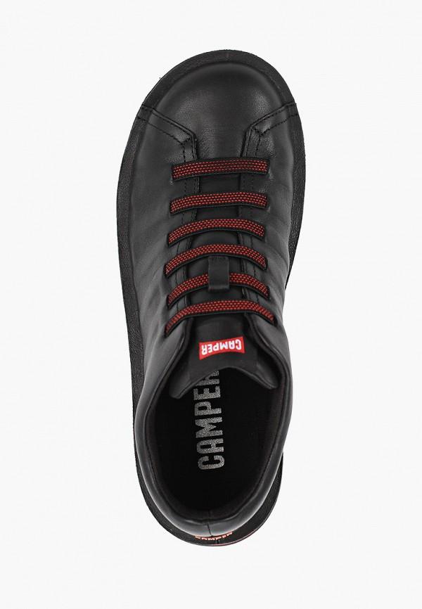 Фото 4 - мужские ботинки и полуботинки Camper черного цвета