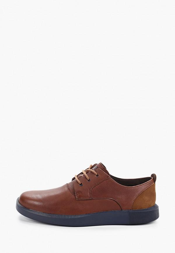мужские туфли camper, коричневые