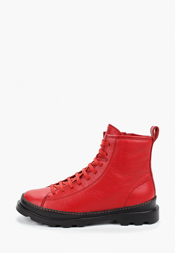 Фото - мужские ботинки и полуботинки Camper красного цвета