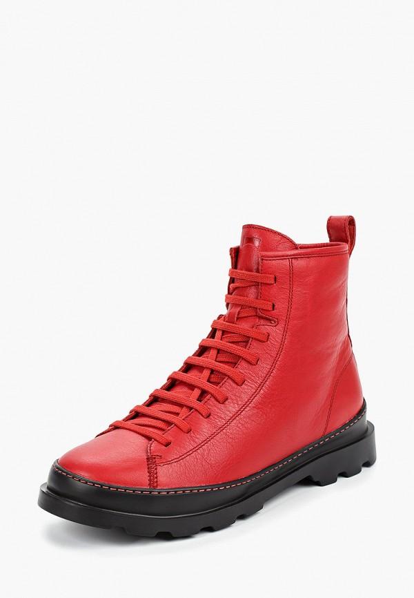 Фото 2 - мужские ботинки и полуботинки Camper красного цвета