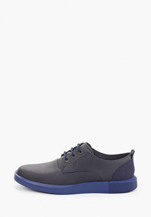 мужские туфли-дерби camper, синие