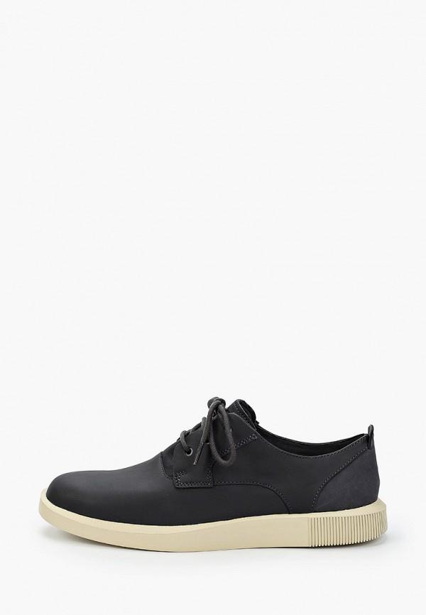 мужские туфли-дерби camper, серые
