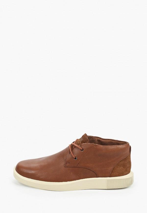 мужские низкие ботинки camper, коричневые