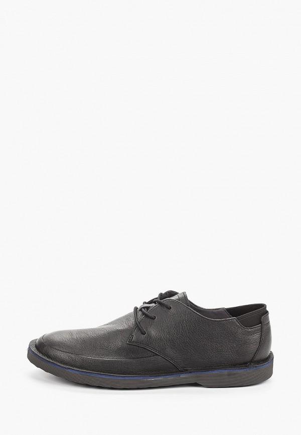 мужские туфли-дерби camper, черные