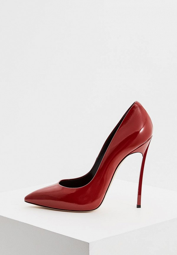 Купить Туфли Casadei, ca559awbtlh4, красный, Осень-зима 2018/2019
