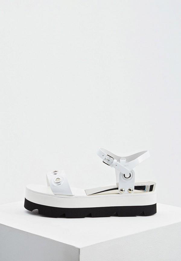 женские сандалии casadei, белые