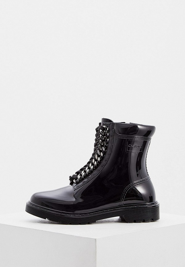 женские ботинки casadei, черные