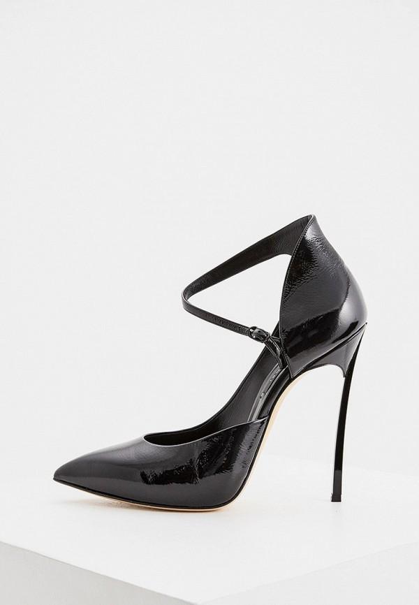 женские туфли casadei, черные