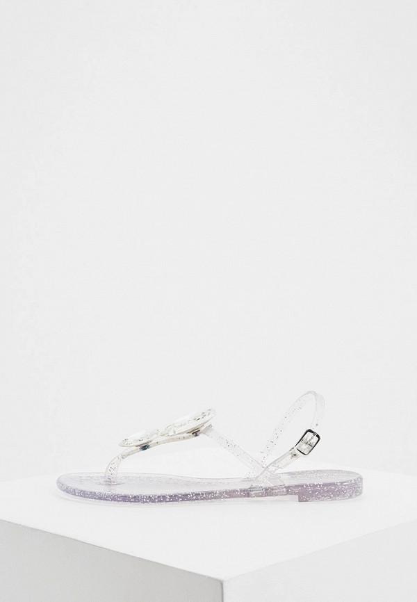 женские сандалии casadei, серебряные