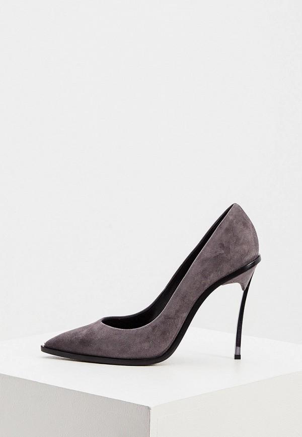 женские туфли casadei, серые