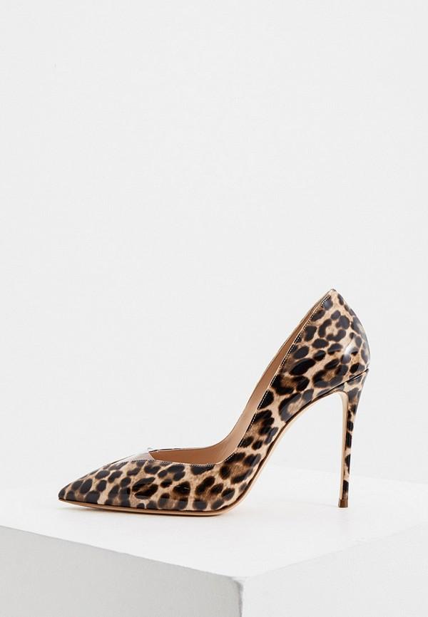 женские туфли casadei, коричневые