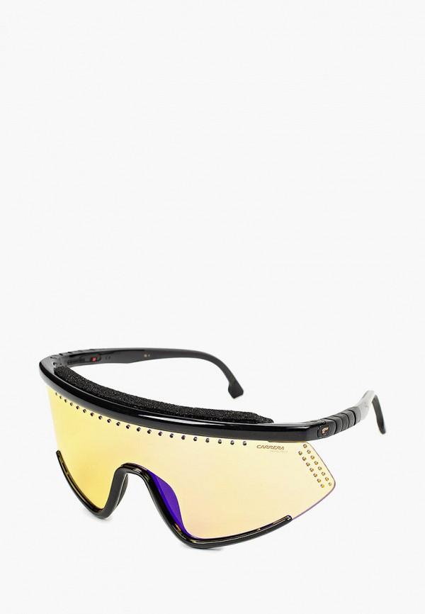 мужские авиаторы солнцезащитные очки carrera, черные