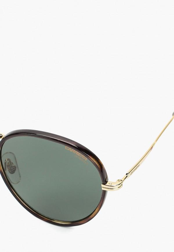 Фото 2 - Очки солнцезащитные Carrera коричневого цвета