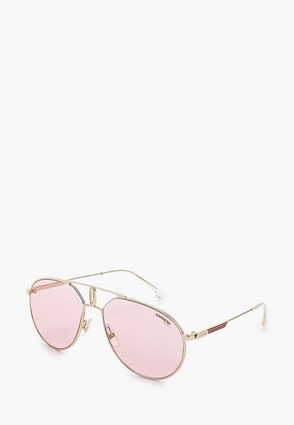женские солнцезащитные очки carrera, золотые