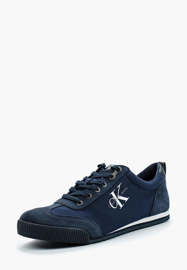 Купить Кроссовки Calvin Klein Jeans, ca939amappv6, синий, Весна-лето 2018